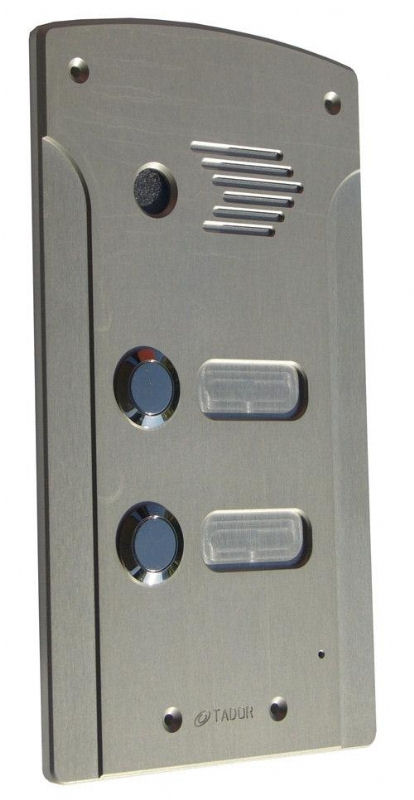 DR500-AV-2P אינטרקום דו משפחתי